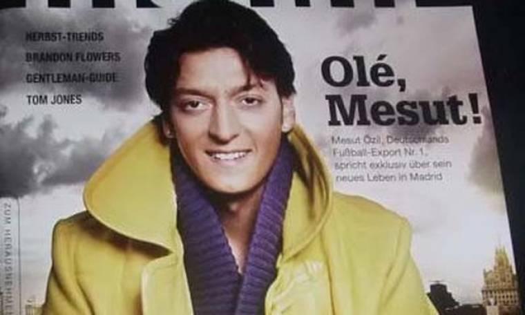 Ο Mesut Ozil στο Focus