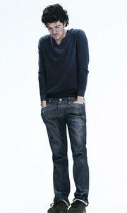 Ο Orlando Bloom σε ρόλο μοντέλου