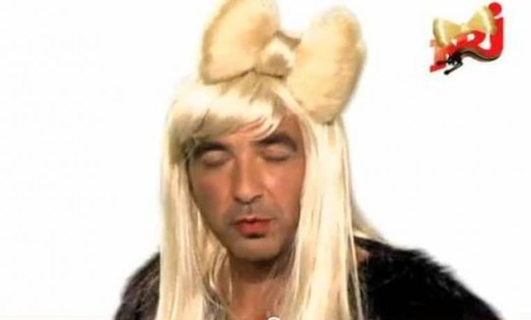 Video: Ο Νίκος Αλιάγας ντύθηκε Lady Gaga!