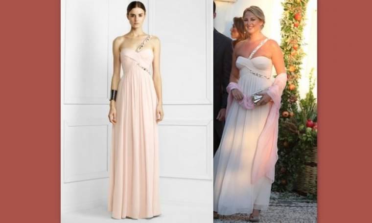 Πόσο κόστισε το φόρεμα που έβαλε η Θεοδώρα στον γάμο του αδερφού της;