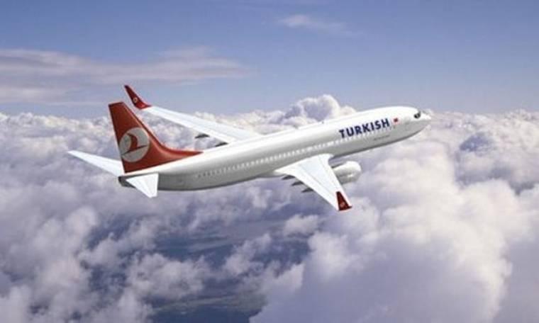 Turkish Airlines: Αύξηση 17,8% στη διακίνηση επιβατών