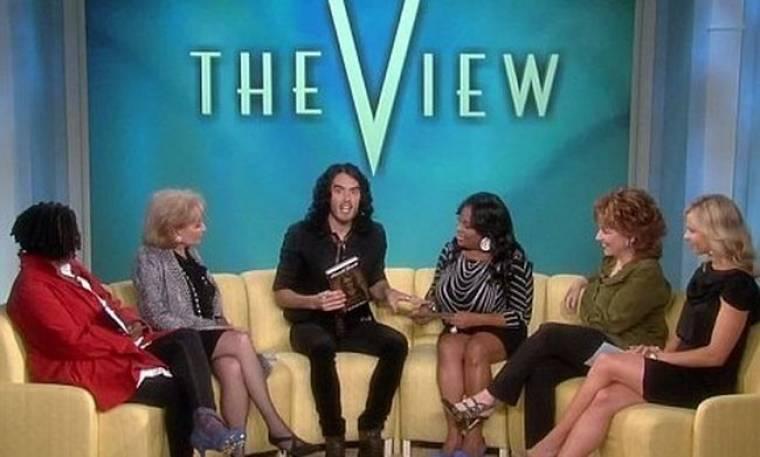 Ο Russell Brand στην εκπομπή The View