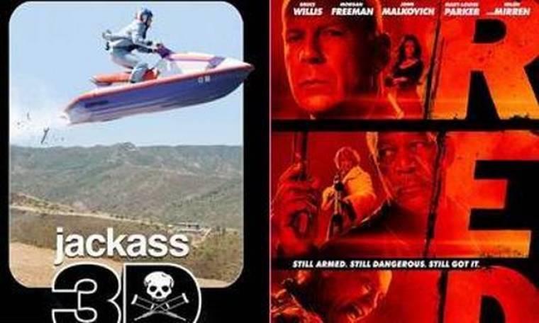 Το Jackass πρώτο στο Box Office