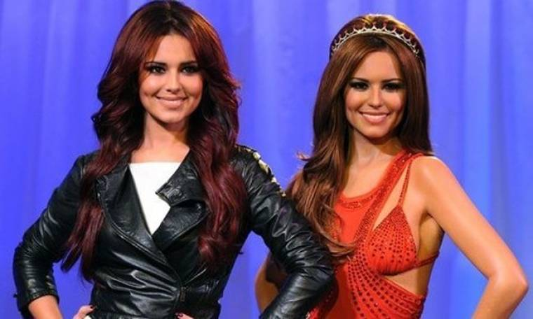 Η Cheryl Cole συναντά το κέρινο ομοίωμα της