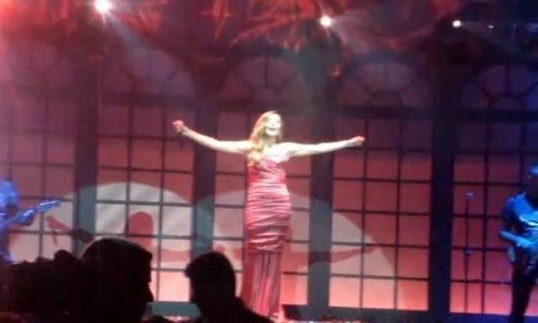 Video: Η χθεσινή πρεμιέρα της Δέσποινας Βανδή