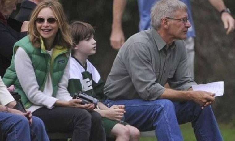 Ford – Flockhart, στον αγώνα ποδοσφαίρου του γιου τους
