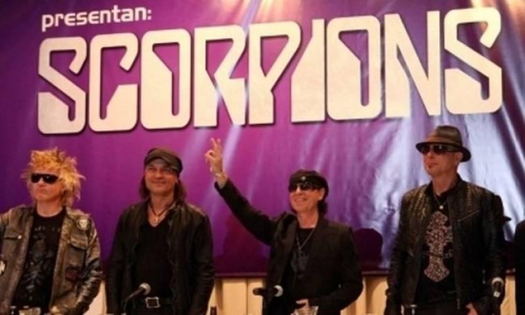 Την Τετάρτη οι Scorpions στο ΣΕΦ