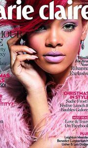 Η Rihanna στο βρετανικό Marie Claire