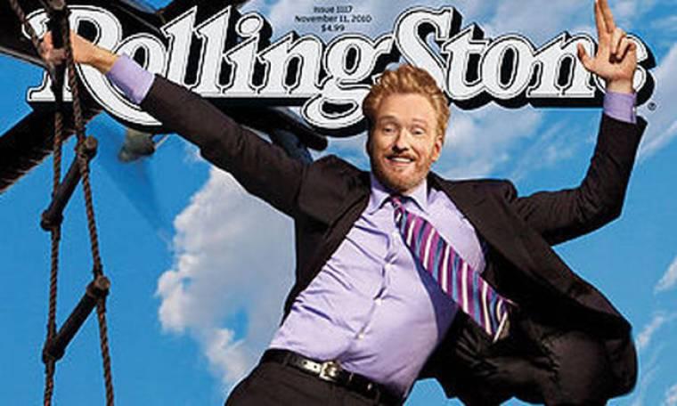 Ο Conan O'Brien στο Rolling Stone