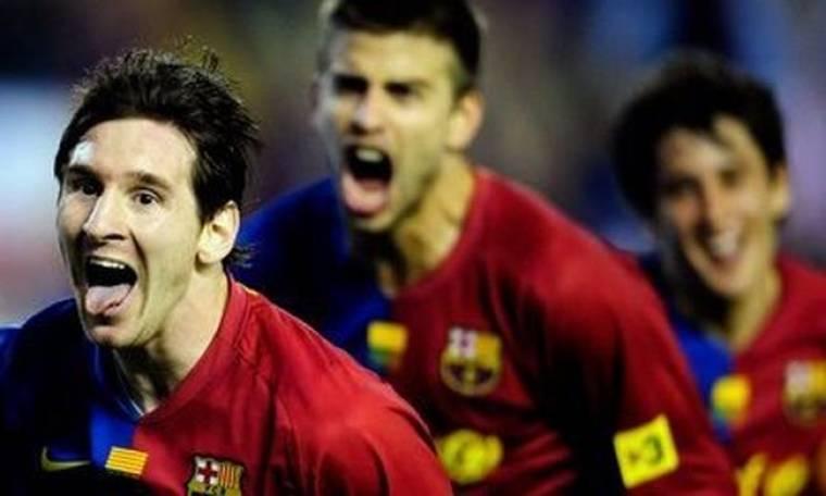 Video: Γιατί... βρέχουν τους παίκτες της Barcelona;