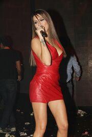 Χριστίνα Κολέτσα: The woman in red