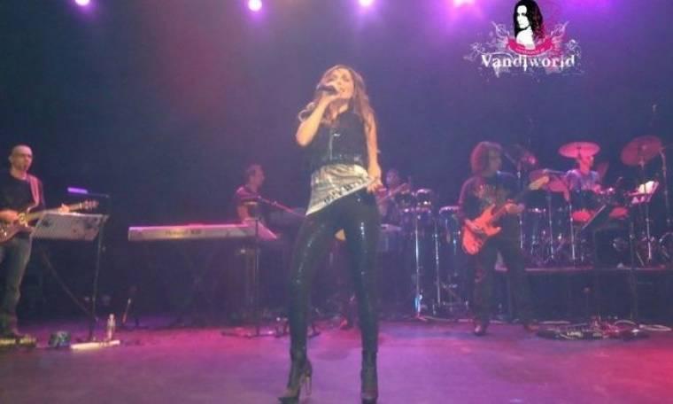 Στιγμιότυπα από τη συναυλία της Βανδή στο Λονδίνο!