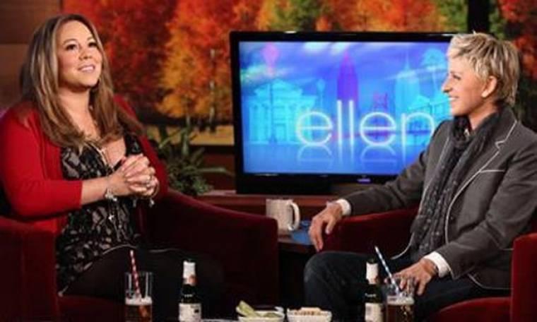 Video: Η Mariah Carey στην Ellen DeGeneres