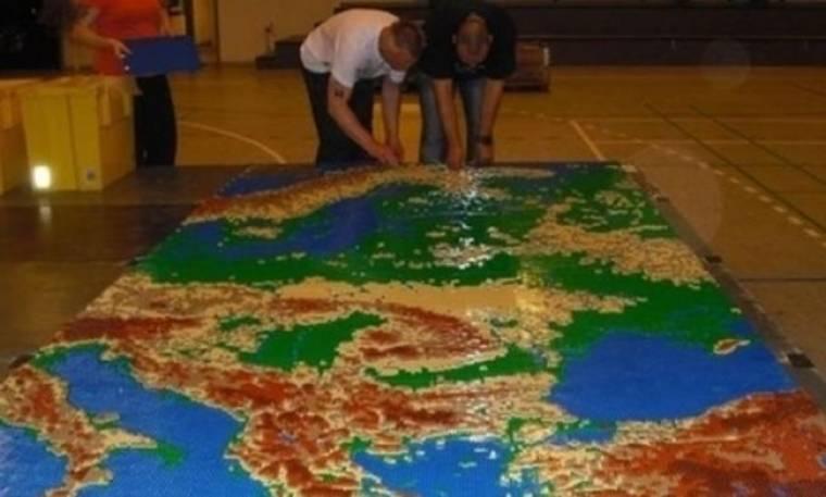 Η Ευρώπη ένα μεγάλο Lego-νοπέδιο!