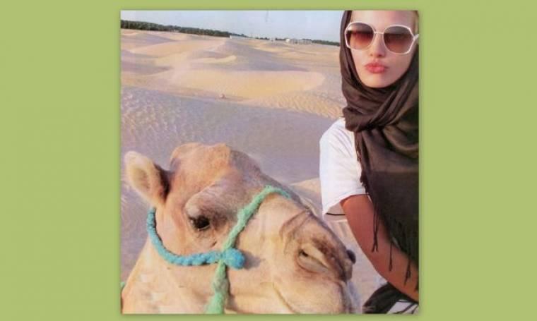 Καρέ καρέ το παραμυθένιο ταξίδι της Kάτιας Δέδε στην Τυνησία