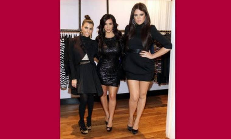 Οι αδερφές Kardashian εγκαινίασαν την καινούργια τους μπουτίκ στη Νέα Υόρκη
