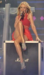 Video: Η Kylie Minogue στο X-Factor