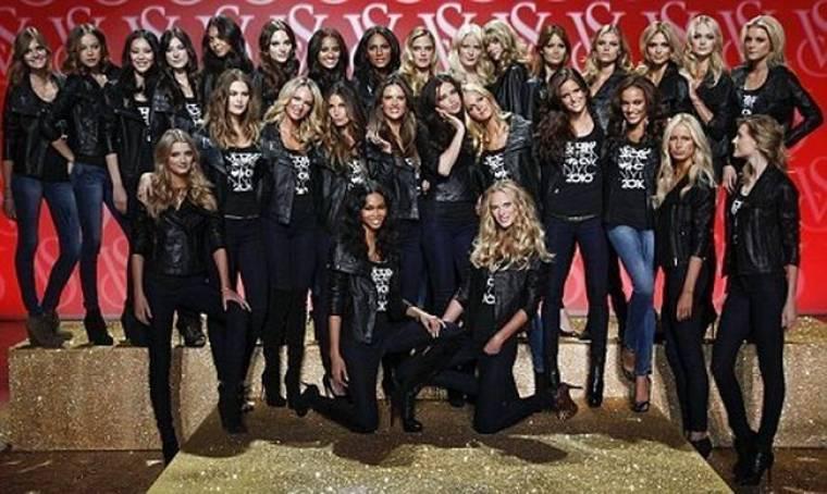 Η… οικογενειακή φωτογραφία της Victoria's Secret