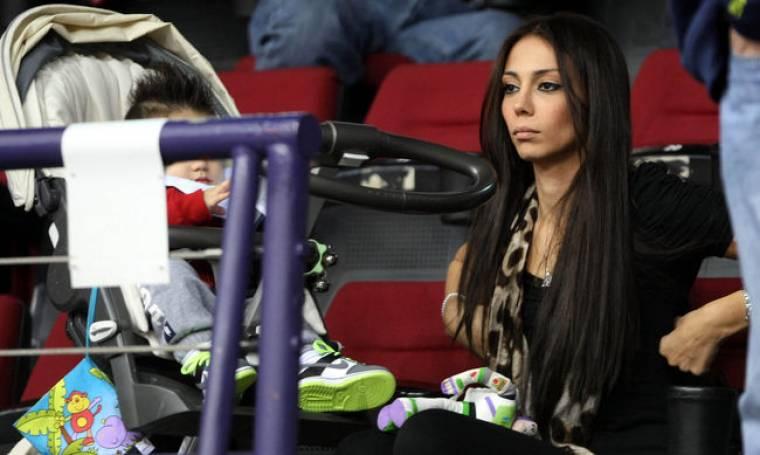 Ολυμπία Χοψονίδου: Με τον γιό της στο γήπεδο!