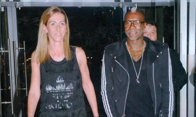 Τζιμπρίλ Σισέ: Shopping με τη γυναίκα του