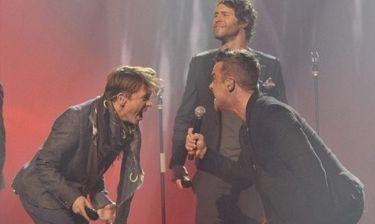 Video: Οι Take That στο X - Factor