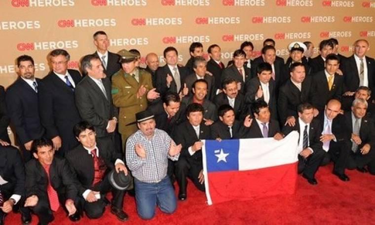 Οι μεταλλωρύχοι… άνοιξαν το CNN Heroes