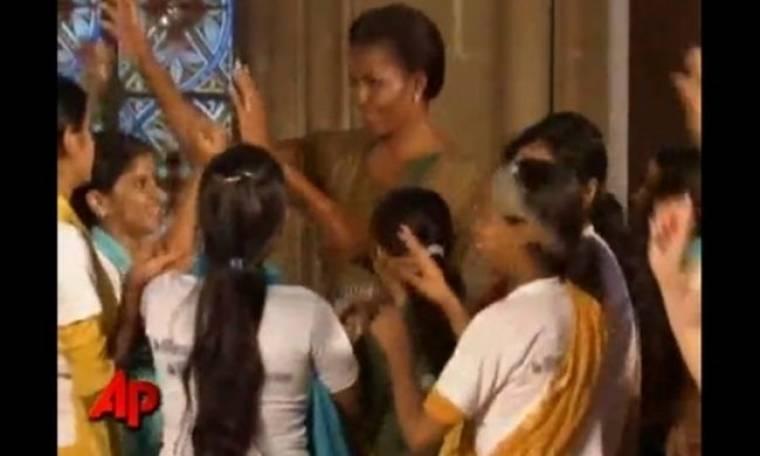 Η Michelle Obama… «τα σπάει!»