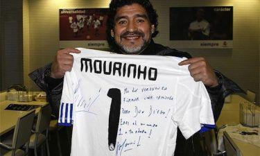 Η αφιέρωση του Mourinho στον Maradona
