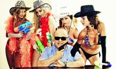 Μία σουρεάλ φωτογράφηση του Νίκου Μουρατίδη! (Αποκλειστικά στο gossip-tv και στο cosmopoliti blog)