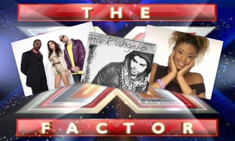 Vegas, Mark Angelo & Shaya απόψε στο X Factor.!