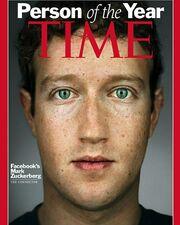 Πρόσωπο της χρονιάς ο Zuckerberg