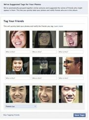 Facebook Photos Tag: Η νέα λειτουργία αναγνώρισης προσώπου