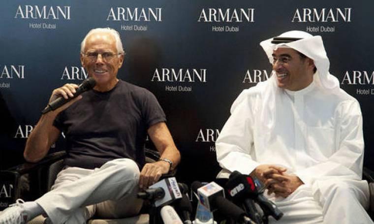 Άδεια τα διαμερίσματα του Armani στο Burj Dubai