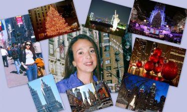 Με τη Χριστίνα Αλεξανιάν στη Χριστουγεννιάτικη Νέα Υόρκη