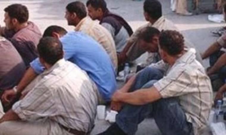 Μπαράζ συλλήψεων λαθρομεταναστών από την Τουρκία