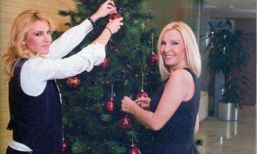 Μαρία Σταματέρη και Δέσποινα Μαλέλη: Χριστούγεννα just the two of them