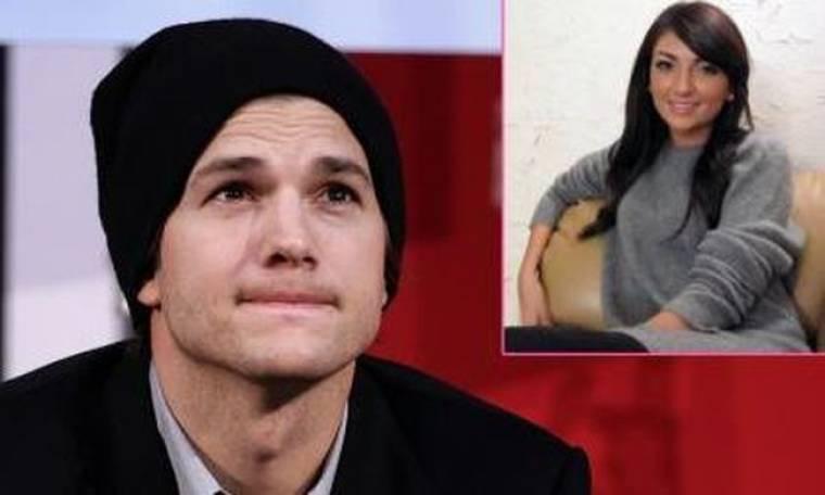 Η ερωμένη του Kutcher επιμένει