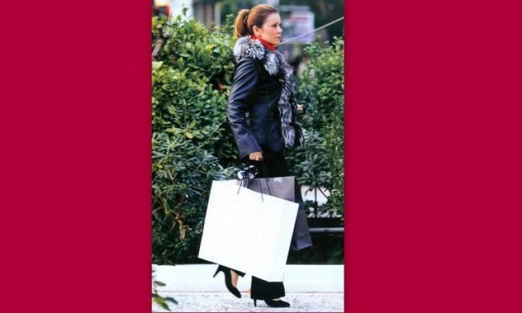Ευγενία Μανωλίδου: Αγορές στην Κηφισιά