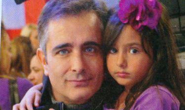 Σωκράτης Αλαφούζος: Αγκαλιά με την κόρη του