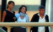 G.Clooney: Διακοπές με τους γονείς της Elisabetta