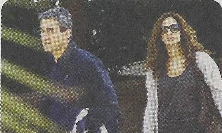 Η βόλτα του υπουργού για ψώνια