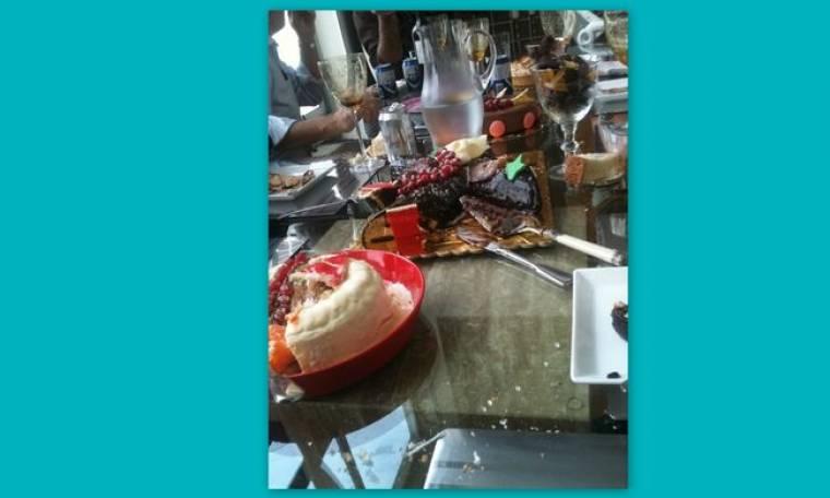 Η Ελεονώρα Μελέτη και το οικογενειακό τραπέζι