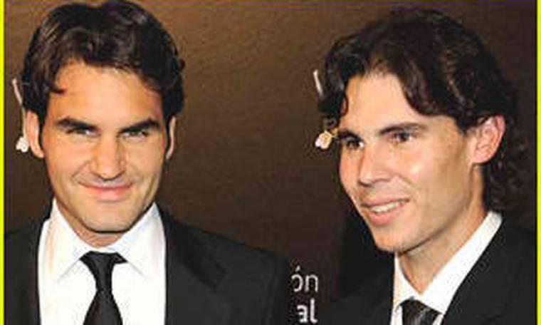 Ο Roger Federer & ο Rafael Nadal συγκεντρώνουν εκατομμύρια για φιλανθρωπίες