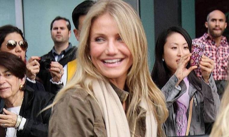 Cameron Diaz και Guy Oseary: Σε αγώνα των Lakers