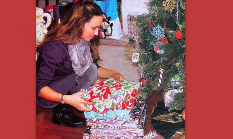 Shopping πριν την Πρωτοχρονιά έκανε η Καλομοίρα