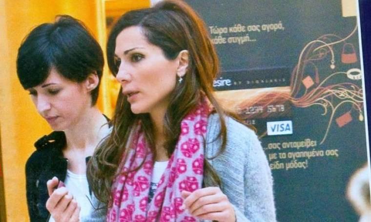 Δέσποινα Βανδή: Βόλτα για ψώνια