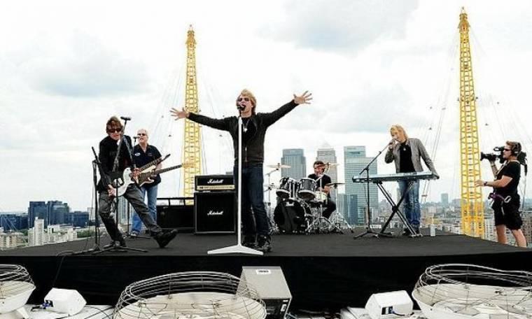 Στην κορυφή οι Bon Jovi