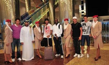Video: Η Milan στο Ντουμπάι