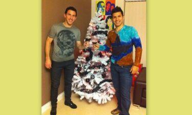 Το Χριστουγεννιάτικο δέντρο του Sergio Aguero