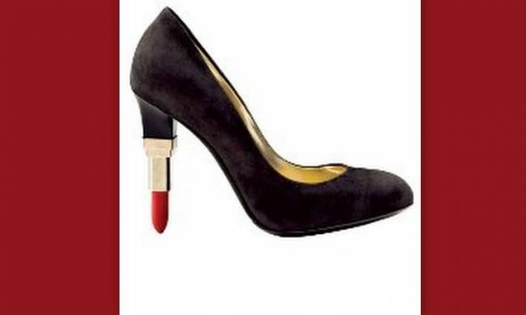 Ιδού τα Lipstick Heels!